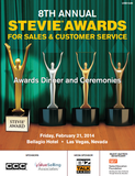 2014 Stevie Awards for Sales & Customer Service Awards Gala Program
