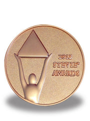 2013 Stevie Bronze Medallion