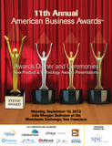 2013 American Business Awards' New Product & Technology Awards Banquet Program