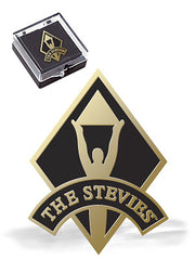Stevie Logo Lapel Pin