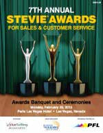 2013 Stevie Awards for Sales       & Customer Service Awards Gala Program