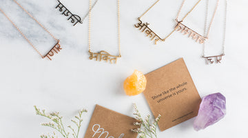 7 Sanskrit Necklaces You'll Want to Find in your Stocking this Year