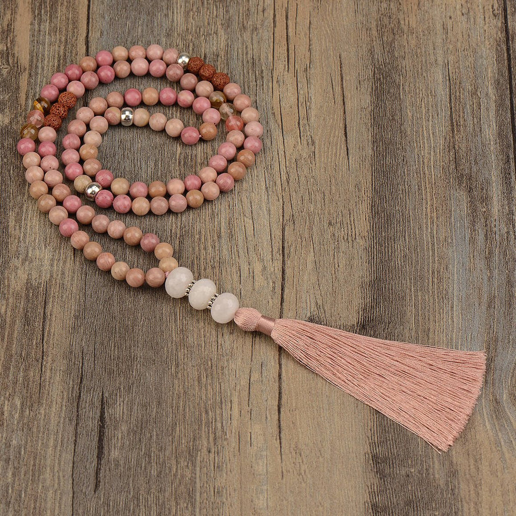 mala beads, mala prayer necklaces,