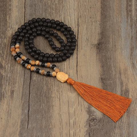 mala necklace, mala beads, crystal meanings, prayer beads, how to choose a mala, meaning of crystal colors,