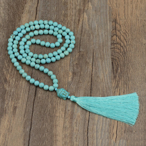 mala beads, prayer beads, mala necklace, mala bracelet, summer malas, summer 2017 colour trends