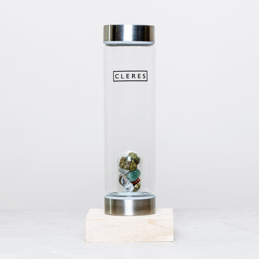 Jade Crystal Stone Water Bottle Bottle