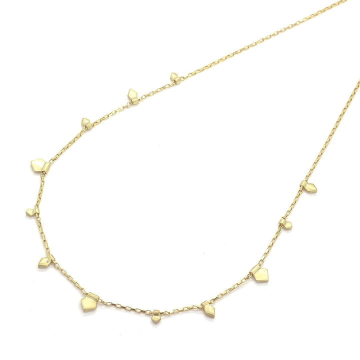 Aubrey Pentagon Necklace