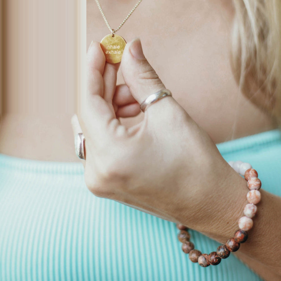 Explore Breath Necklace
