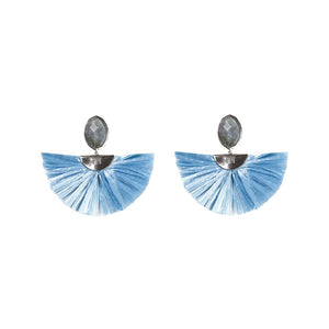 Cara Flutter Earrings in Cloud