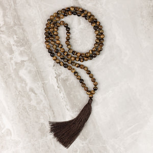 Calm Tiger Mala Necklace