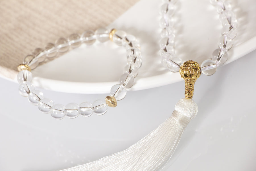 Perfect Quartz Mala Necklace