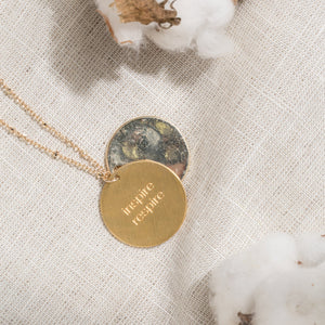 Gratitude Breath Necklace