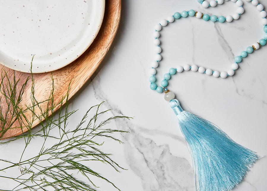 Lucky Glow Mala Necklace