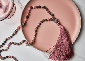 Lovely Rose Mala Necklace