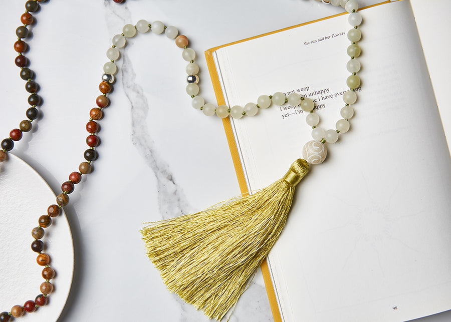 Psychic Strength Mala Necklace