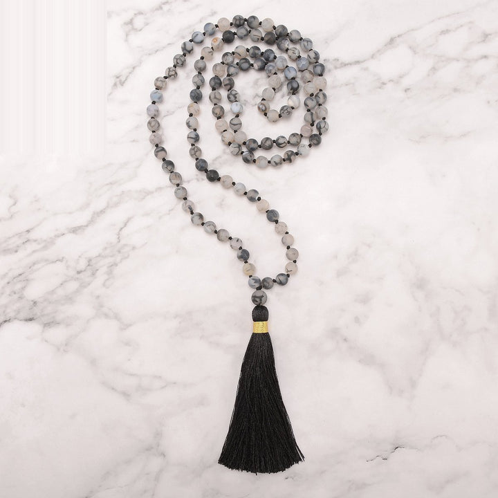 Consciousness Mala Necklace