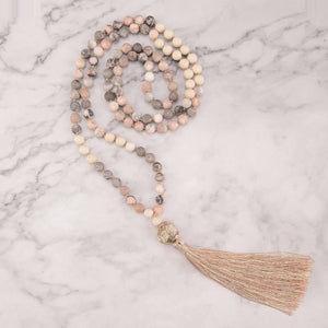 Cheerful Love Mala Necklace