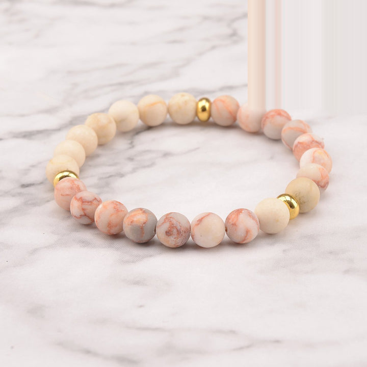 Golden Love Mala Bracelet