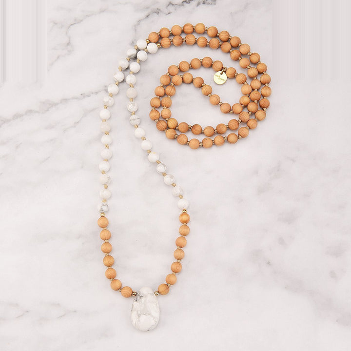 Crisp Mala Necklace