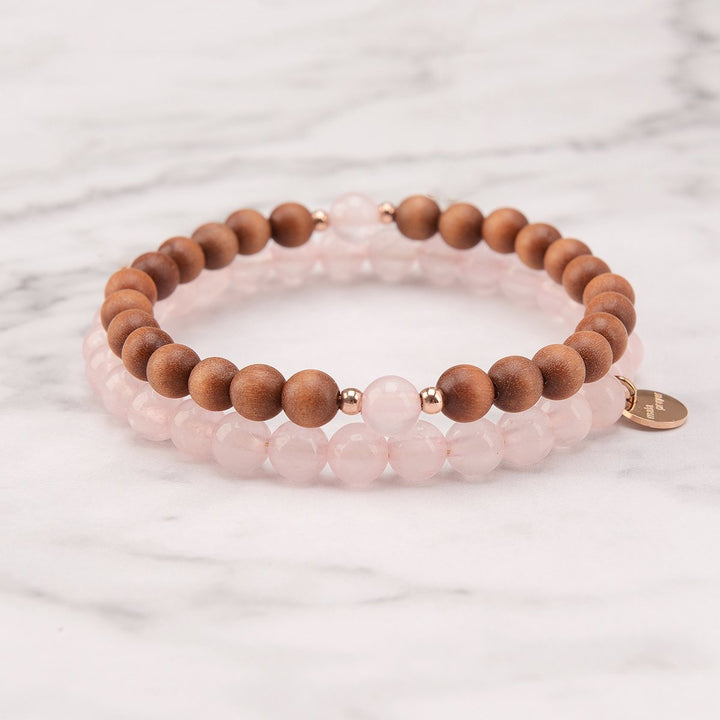 Love Of Earth Mala Bracelet Set