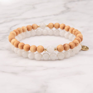 Mysterious Moon Mala Bracelet Set