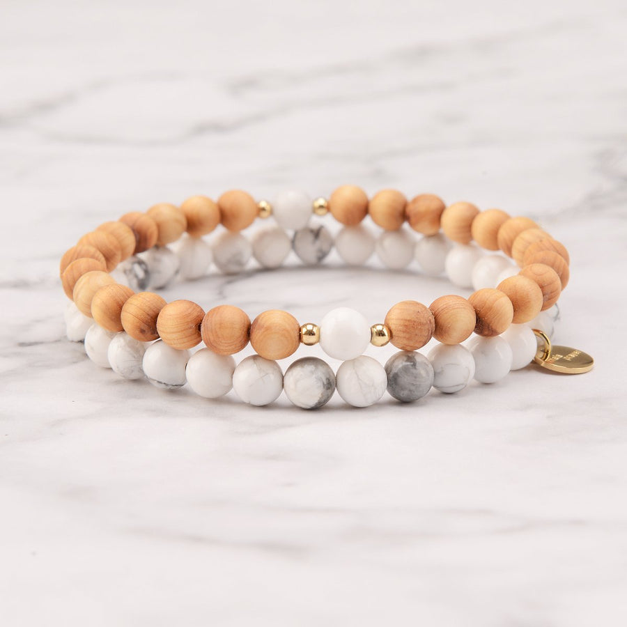 Cool Wind Mala Bracelet Set