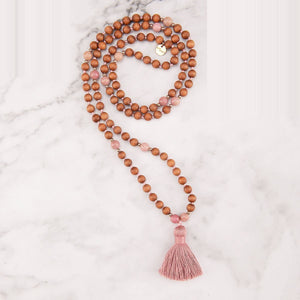 Rose Mala Necklace