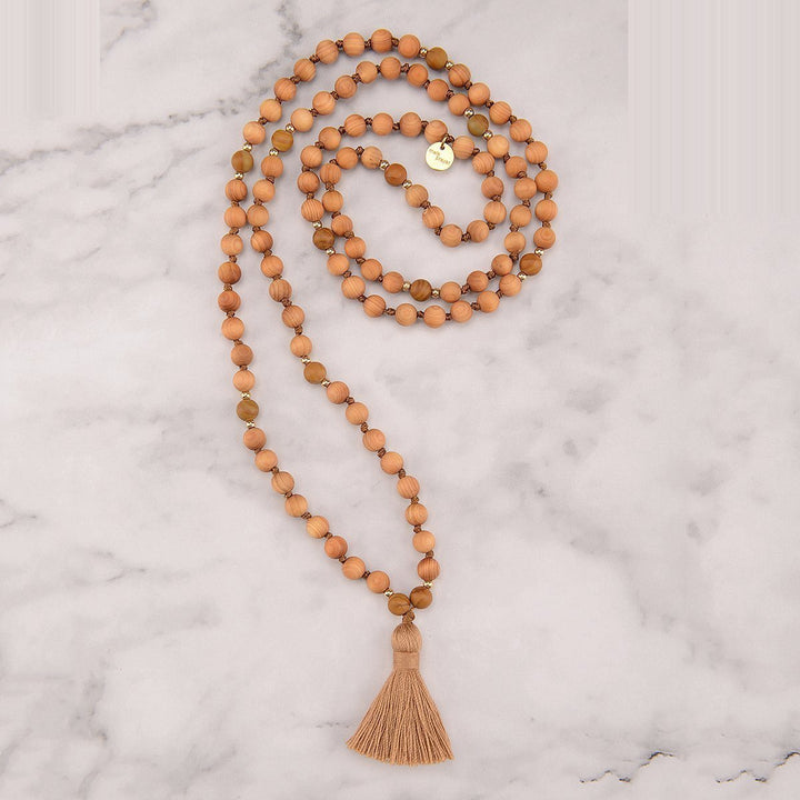 Fluttering Leaf Mala Necklace
