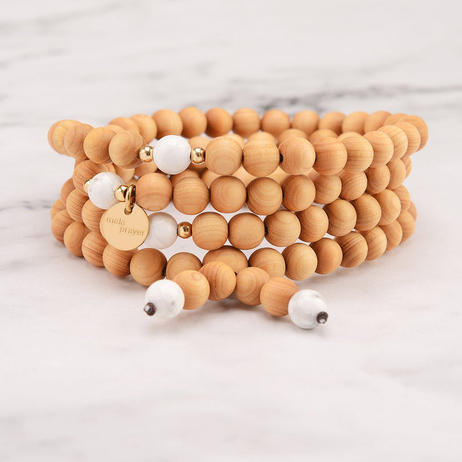 Echo 108 Bead Bracelet Mala Necklace
