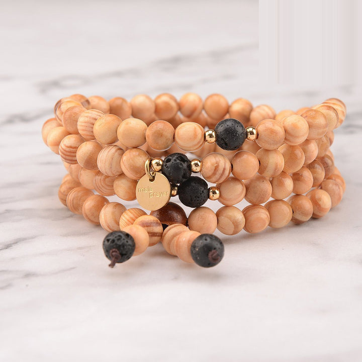 Cool Ground 108 Bead Bracelet Mala