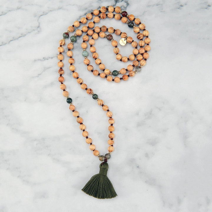 Evergreen Mala Necklace