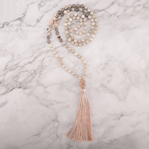 Cool Earth Mala Necklace