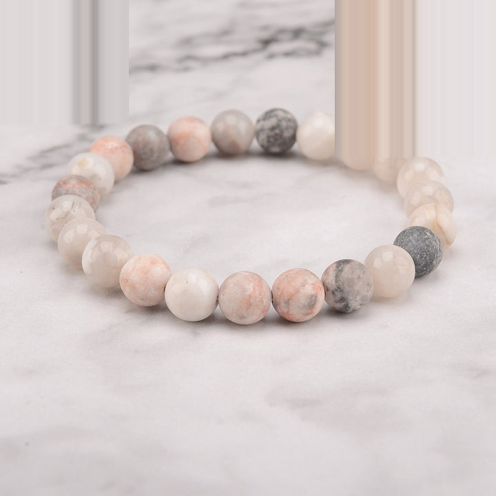 Cool Earth Mala Bracelet