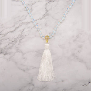 Delicate Opalite Mala Necklace