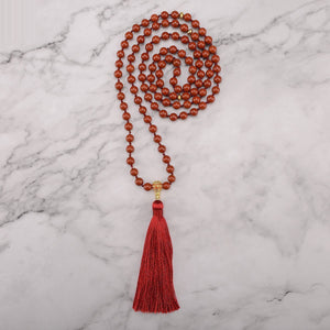 Nurturing Jasper Mala Necklace