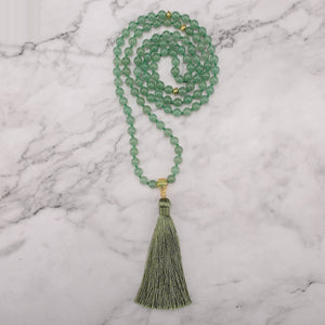 Lucky Jade Mala Necklace