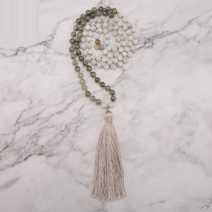 Awakened Moon Mala Necklace