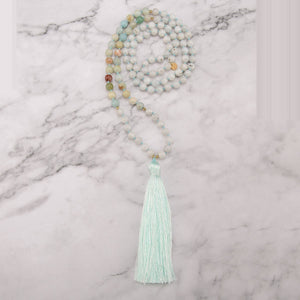 Wild Moon Mala Necklace