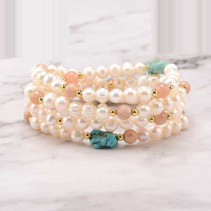 Contemplation Pearls 108 Bracelet Mala