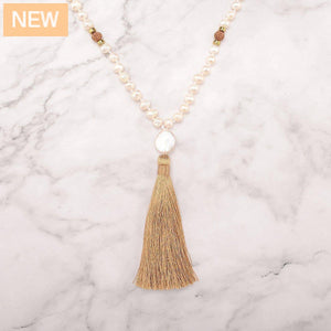 Insight Pearls Mala Necklace