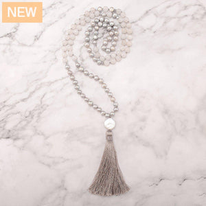 Virtue Pearls Mala Necklace