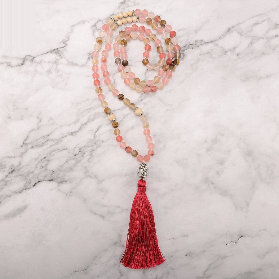 Bright Compassion Mala Necklace