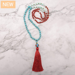 Bright Flare Mala Necklace