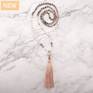 Vibrant Passion Mala Necklace