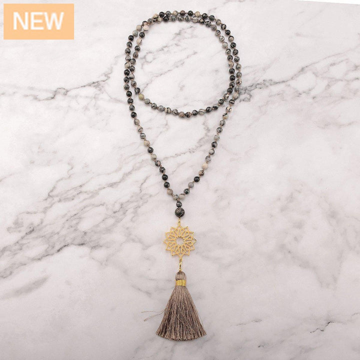 Firm Heart Mala Necklace