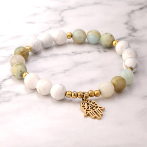 Balanced Crown Mala Bracelet
