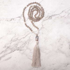 Steady Earth Mala Necklace
