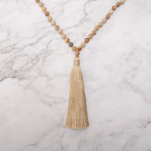 Visual Harmony Mala Necklace