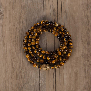 Willpower 108 Bead Bracelet Mala