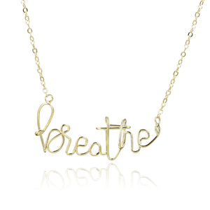 Breathe Pure Necklace